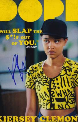 Kiersey Clemons in-person autographed photo