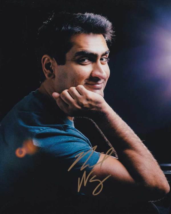 Kumail Nanjiani in-person autographed photo