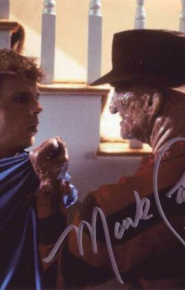 Mark Patton in-person autographed photo
