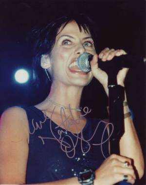Natalie Imbruglia in-person autographed photo