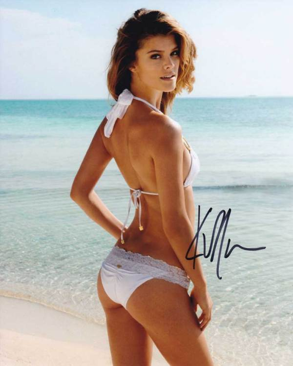 Nina Agdal in-person autographed photo
