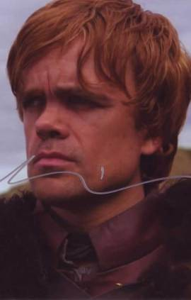 Peter Dinklage in-person autographed photo