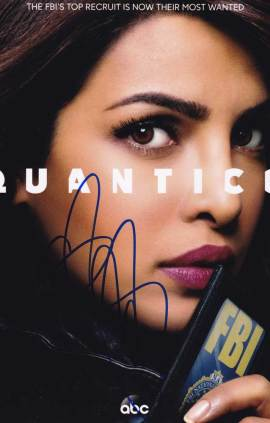 Priyanka Chopra in-person autographed photo