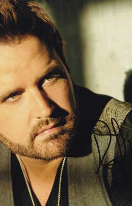 Randy Houser in-person autographed photo