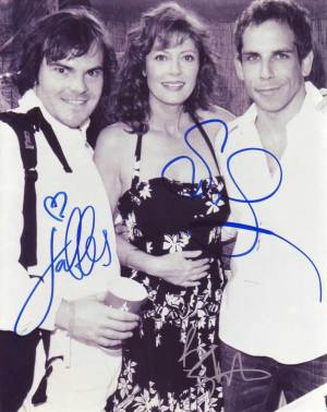 Jack Susan and Ben in-person autographed photo