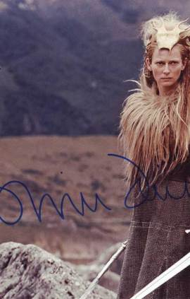Tilda Swinton in-person autographed photo