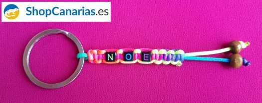 Key Chain Macrame Shopcanarias.es to Customize