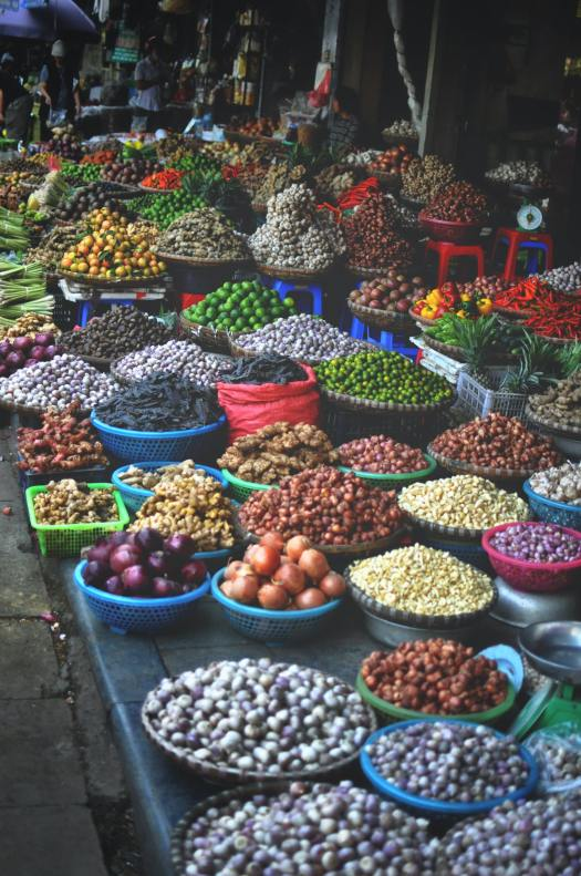 Colors of the Market, Hanoi, Vietnam, by Stéphan Valentin