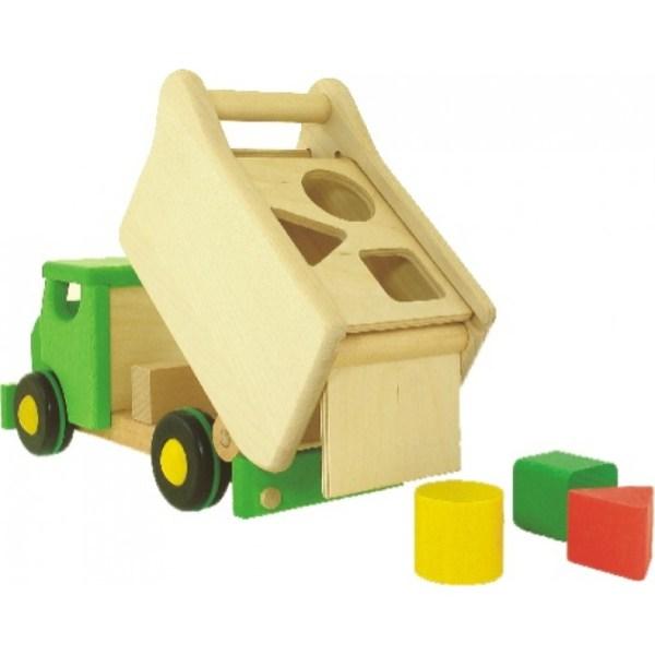 Lastbil plocklåda - Grön
