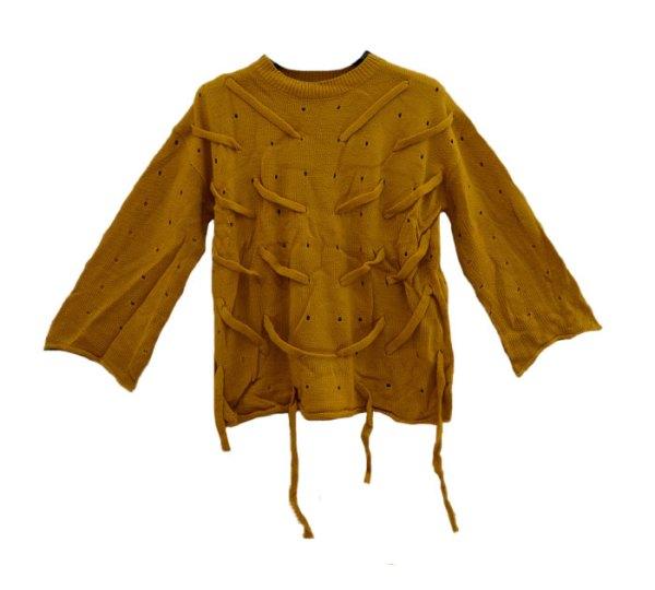 Suéter camisola (mostard)