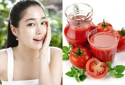 Cách trị nám hiệu quả bằng cà chua nguyên chất