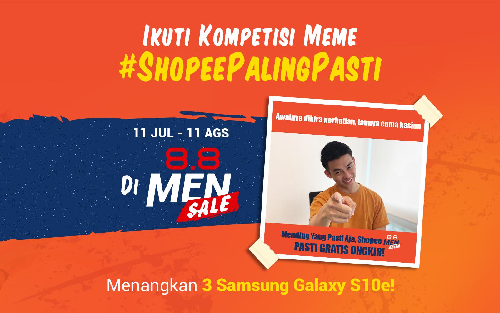 Yuk Ikutan Kompetisi Meme ShopeePalingPasti Di 8 8 Shopee