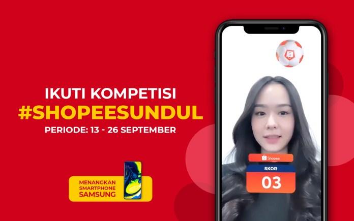 Ikuti kompetisi #ShopeeSundul dan menangkan SAMSUNG GALAXY A80!