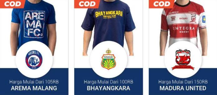 Merchandise Shopee Liga 1