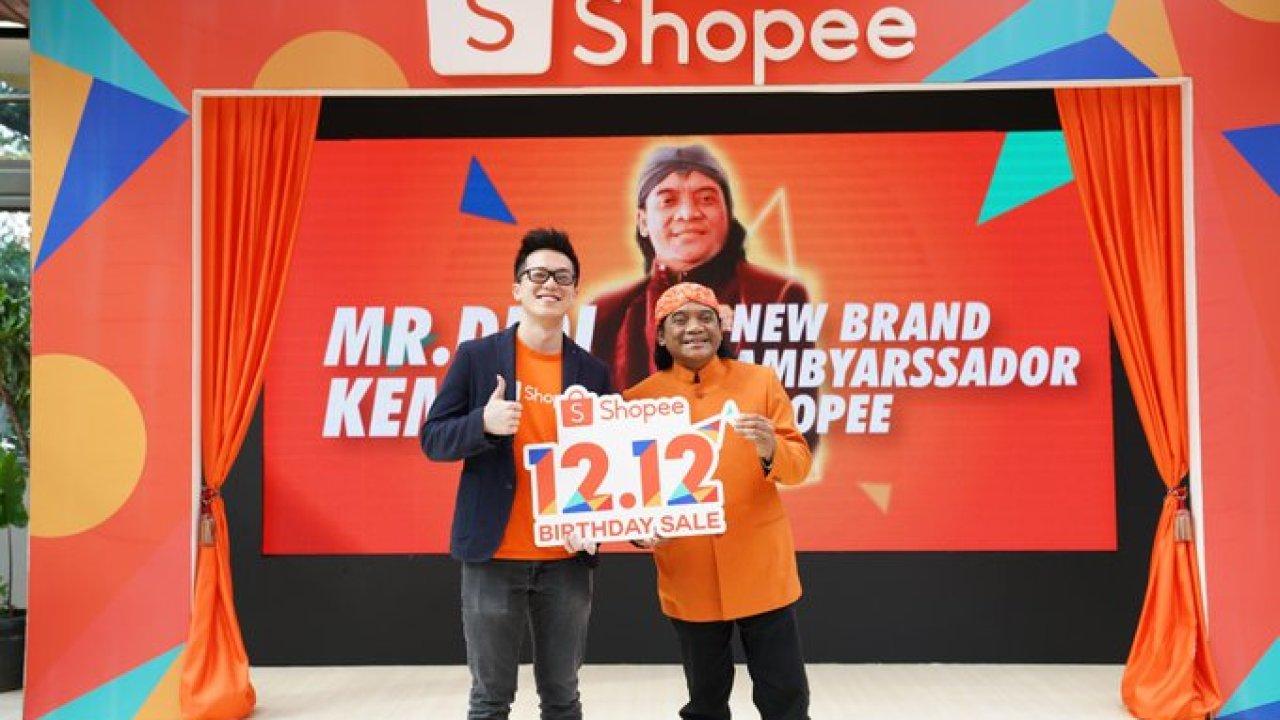 Shopee Indonesia Umumkan Didi Kempot Sebagai Brand Ambyarssador