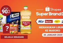 Shopee Super Brand Day HiLo Nutrisari L-Men Tropicana Slim