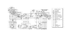 Figure 1 Schematic wiring diagram, model SECM