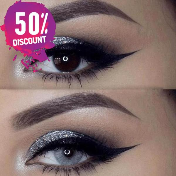 Natural Gray Colored Eye Contact Lenses For a Sexy Arabian Look Eye Contact Lenses FREE SHIPPING 8