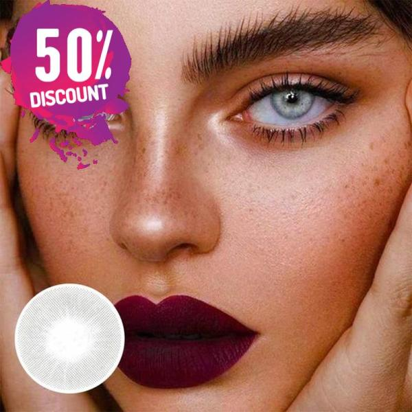 Natural Gray Colored Eye Contact Lenses For a Sexy Arabian Look Eye Contact Lenses FREE SHIPPING 3