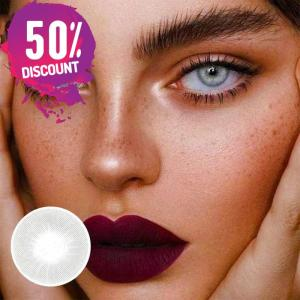 Natural Gray Colored Eye Contact Lenses For a Sexy Arabian Look Eye Contact Lenses FREE SHIPPING