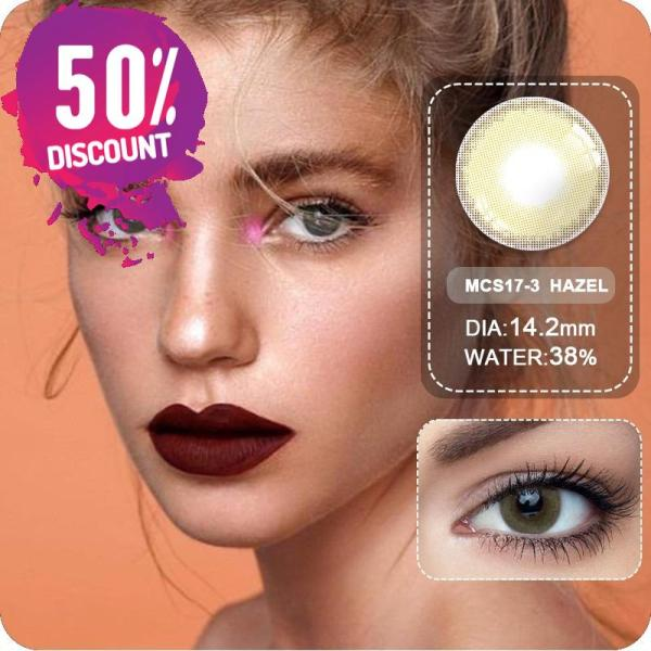 Sweet Cosmetic Blue Grey Shade Eye Contact Lenses 1 Year Use Eye Contact Lenses FREE SHIPPING 5