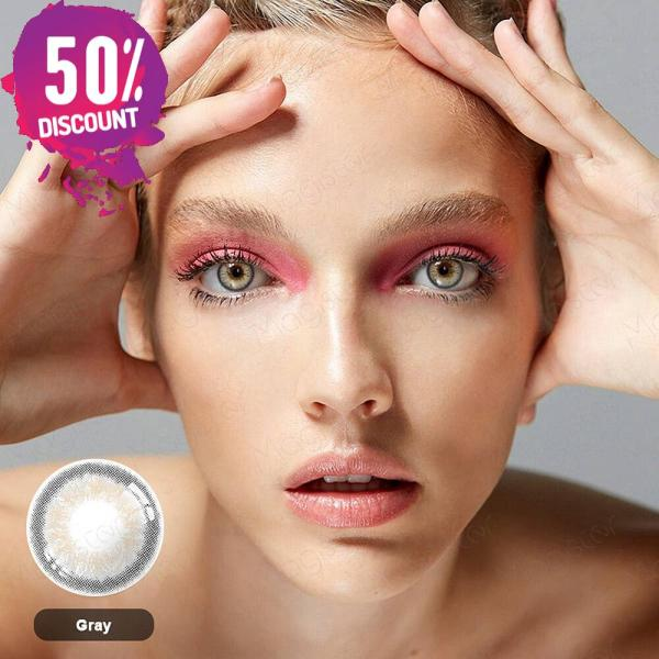 3 Tones Gleam Colored Eye Contact Lenses For a Soft Creamy Look Eye Contact Lenses FREE SHIPPING 7