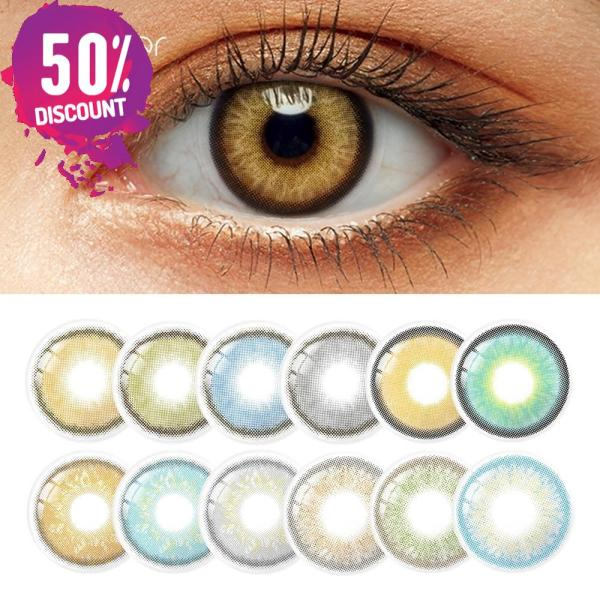 Mystery Delight Colored Eye Contact Lenses For A Soft Candy Look Eye Contact Lenses FREE SHIPPING 3
