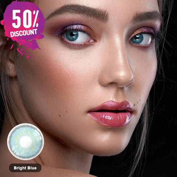 Mystery Delight Colored Eye Contact Lenses For A Soft Candy Look Eye Contact Lenses FREE SHIPPING 6