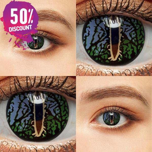 Colored Cosplay Eye Contact Lenses Halloween Crazy Lenses For Anime Look- Premium Quality Eye Contact Lenses FREE SHIPPING 5