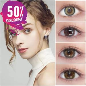 Roma Colored Eye Contact Lenses For Beautiful Green Blue Brown Shades Colored Eyes Eye Contact Lenses FREE SHIPPING
