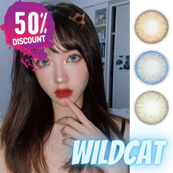 Prescription Colored Contacts for Myopia Green Blue Brown Colored Eye Contact Lenses-1 Year Use Eye Contact Lenses FREE SHIPPING 3