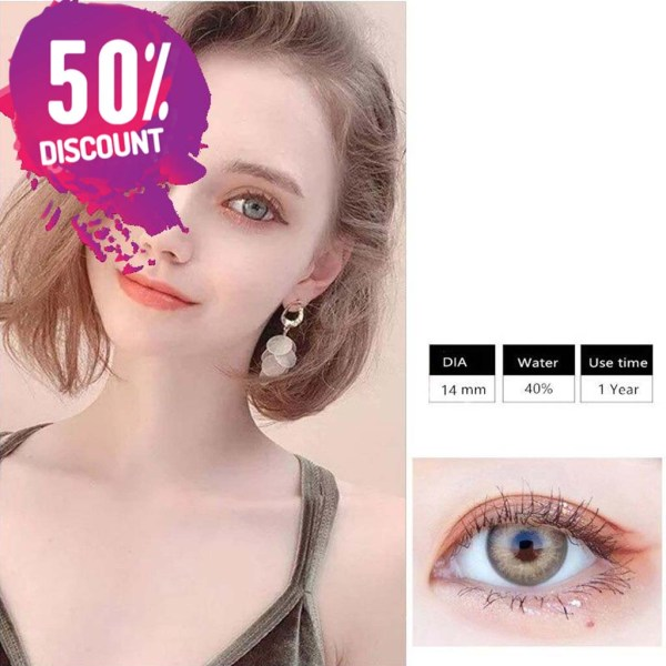 Himalayas Blue Green Shades Colored Eye Contact Lenses For Beautiful Ocean Blue Eyes Eye Contact Lenses FREE SHIPPING 5