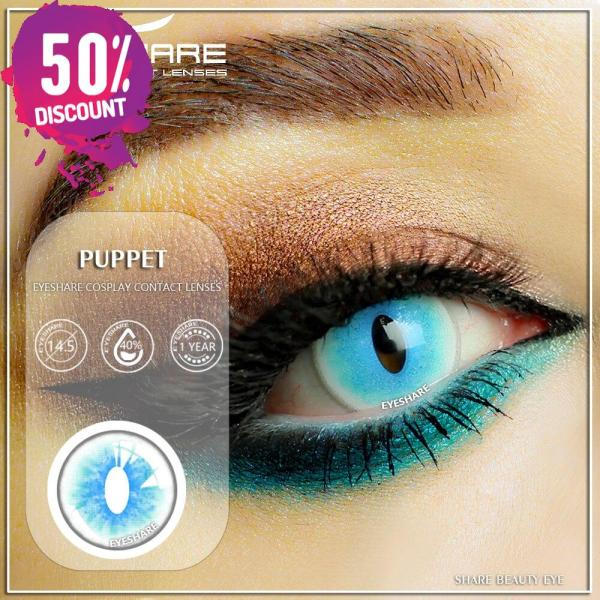 Genshin Impact Contact Lenses Halloween Anime Cosplay Colored Contacts Eye Contact Lenses FREE SHIPPING 6
