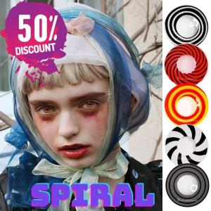 Spiral Contact lenses Halloween Cosplay Circles Contacts for Anime Eyes Eye Contact Lenses FREE SHIPPING