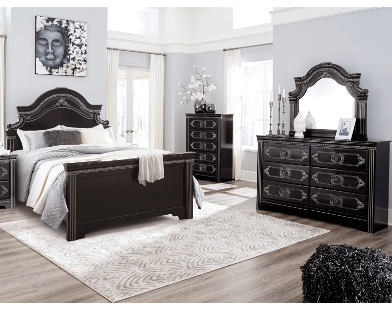 """Havertys for sofas at the price you want or create a space for guests with a sleeper sofa havertys has the right living room couches for you havertys. 9 Piece Queen Bedroom """"Banalski"""", Rent To Own Bedroom ..."""