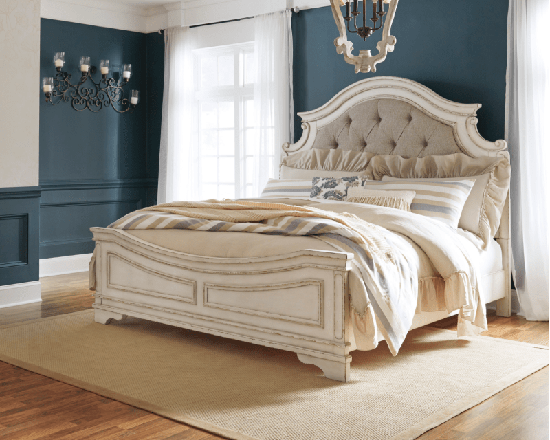 ashley realyn king bed