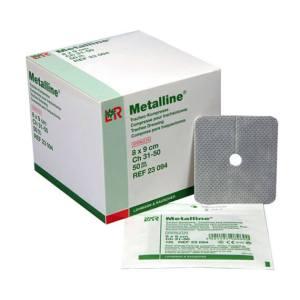 L&R Metalline Kompres 8 x 9cm (50 stuks)