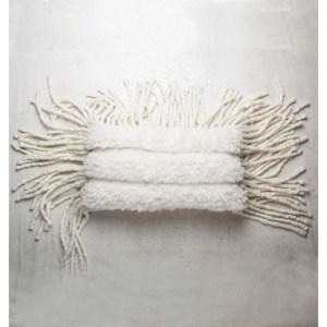 UNC Sierkussen Tribal wit - 35 x 60 cm
