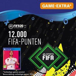 FIFA 20: Ultimate Team (FUT) - 12000 Points - PS4 download - Niet beschikbaar in BE