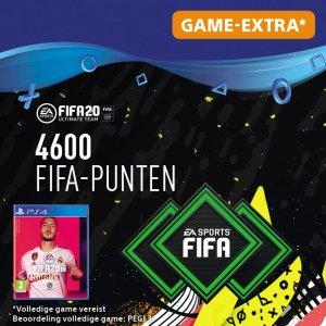 FIFA 20: Ultimate Team (FUT) - 4600 Points - PS4 download - Niet beschikbaar in BE