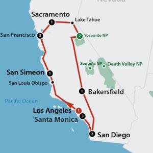 California's Best (16 dagen)