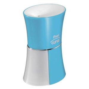 puntenslijper Westcott iPOINT Curve blauw, electrisch exclusief batterijen