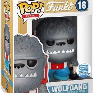 FUNKO POP! SPASTIK PLASTIK, WOLFGANG ,# 18, LE