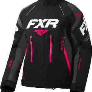 FXR Adrenaline X Dames jas Zwart Pink XL