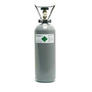 Navulling van de 2kg CO2 fles