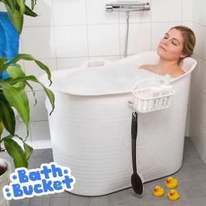 Bath Bucket Voor Volwassenen; Dé oplossing als je thuis geen ligbad hebt
