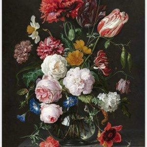 Happy Painter® Diamond Painting volwassenen - Moody bloemen - 30x40 cm
