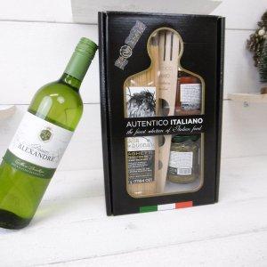 Italiaans kerstbox-spaghetti met witte wijn (6 stuks)