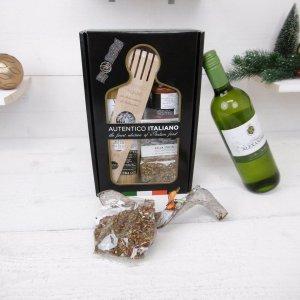 Italiaans kerstbox-spaghetti no 3. met witte wijn (6 stuks)