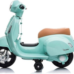 Happy Baby Vespa electrische Mini kinder scooter Mint